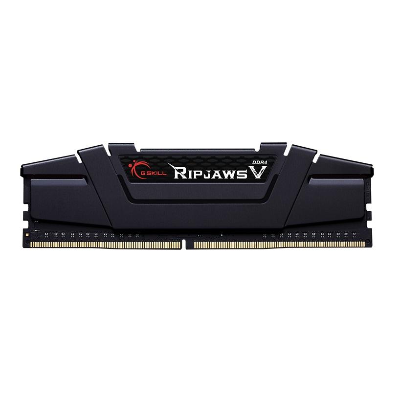 رم دسکتاپ DDR4 تک کاناله 3200 مگاهرتز CL16 جی اسکیل مدل Ripjaws V ظرفیت 16 گیگابایت