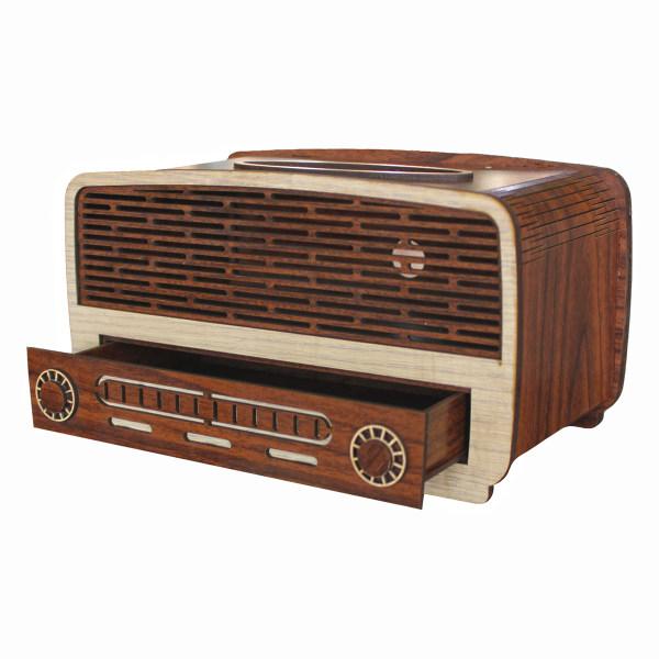 جعبه دستمال کاغذی طرح رادیو کد drk1