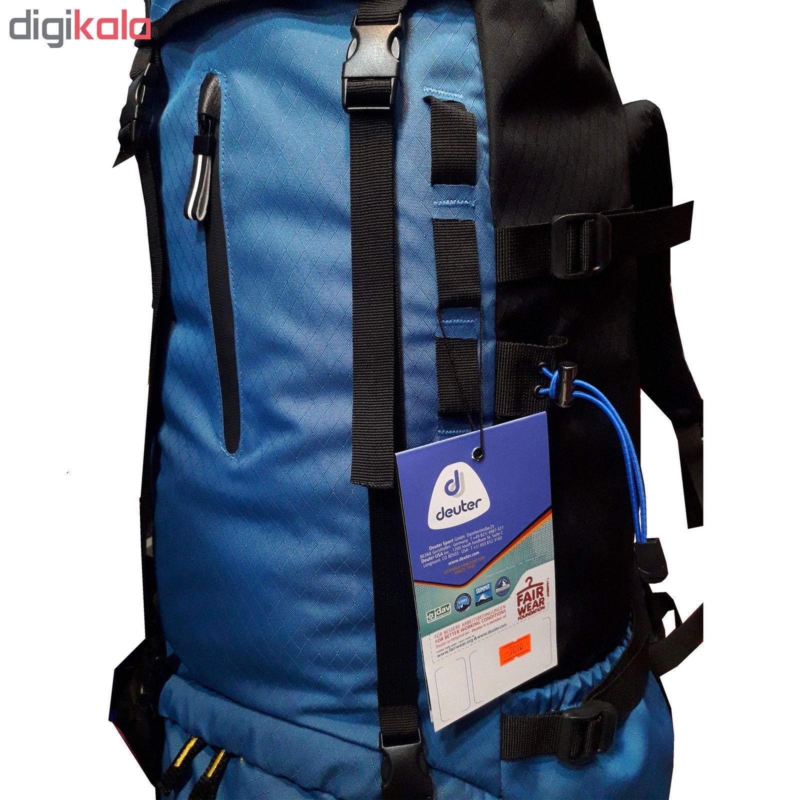 کوله پشتی کوهنوردی 70 لیتری مدل D650 main 1 5