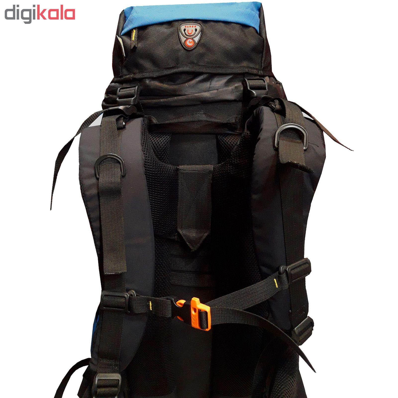 کوله پشتی کوهنوردی 70 لیتری مدل D650 main 1 11