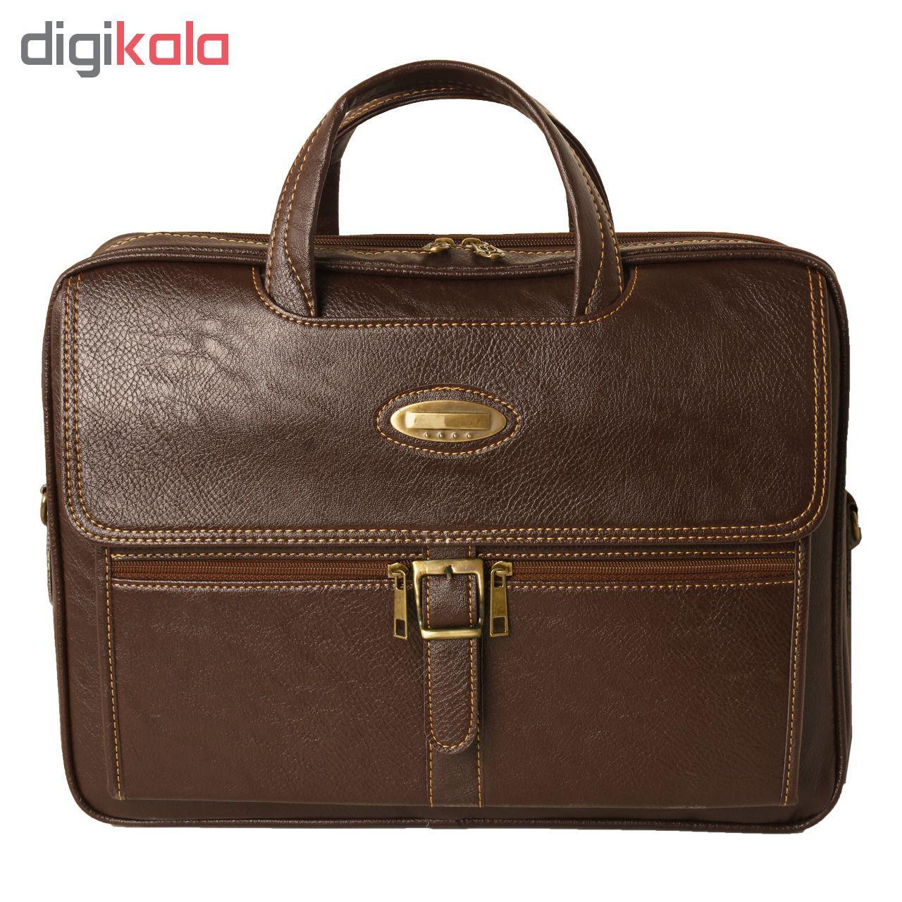 کیف اداری مردانه  کد 15-P256  main 1 1