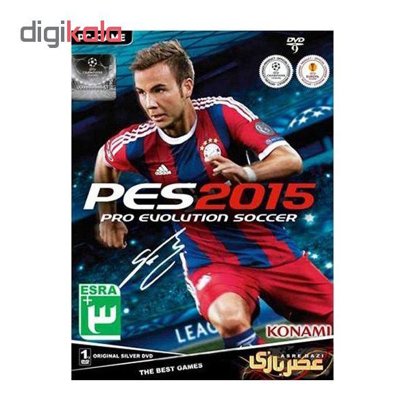 خرید اینترنتی بازی PES 2015 مخصوص PC نشر عصر بازی اورجینال