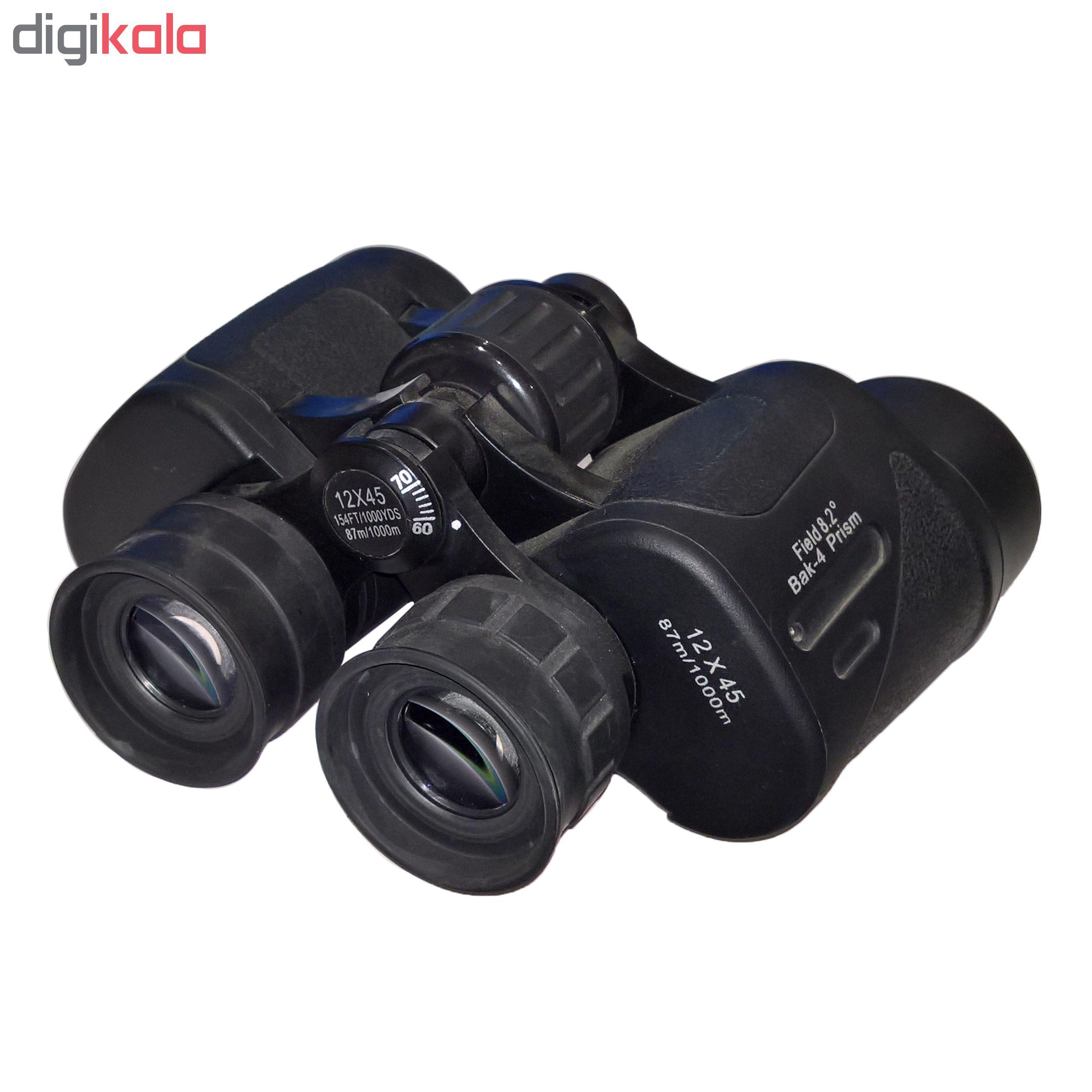 دوربین دو چشمی مدل 12×45  Bak-4