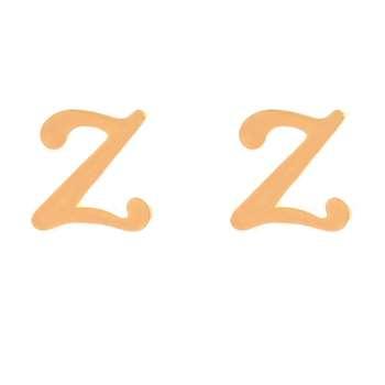 گوشواره زنانه طرح Z کد GO1307