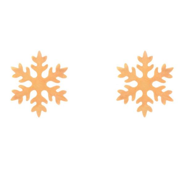 گوشواره زنانه طرح برف کد GO1299