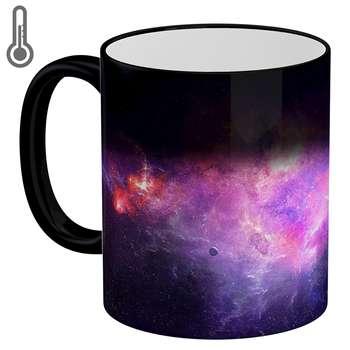 ماگ حرارتی لومانا طرح کهکشان کد MAG1613