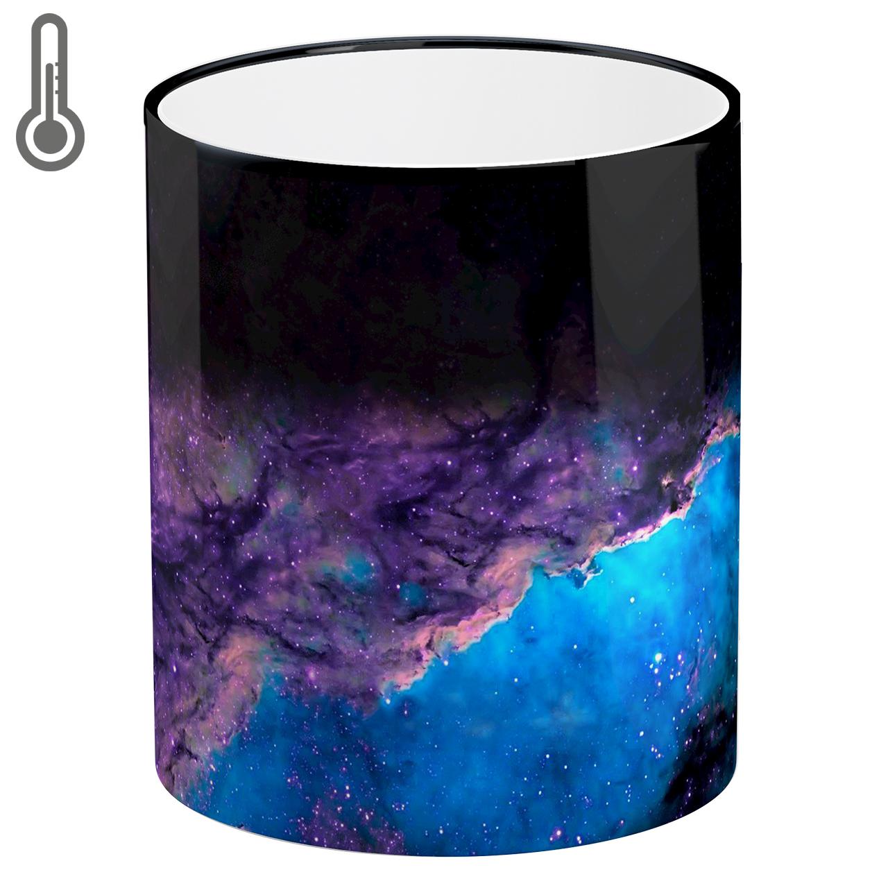 ماگ حرارتی لومانا طرح کهکشان کد MAG1612