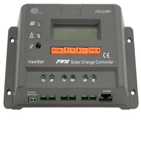 کنترل کننده شارژ خورشیدی ایپی سولار مدل VS1024BN PWM