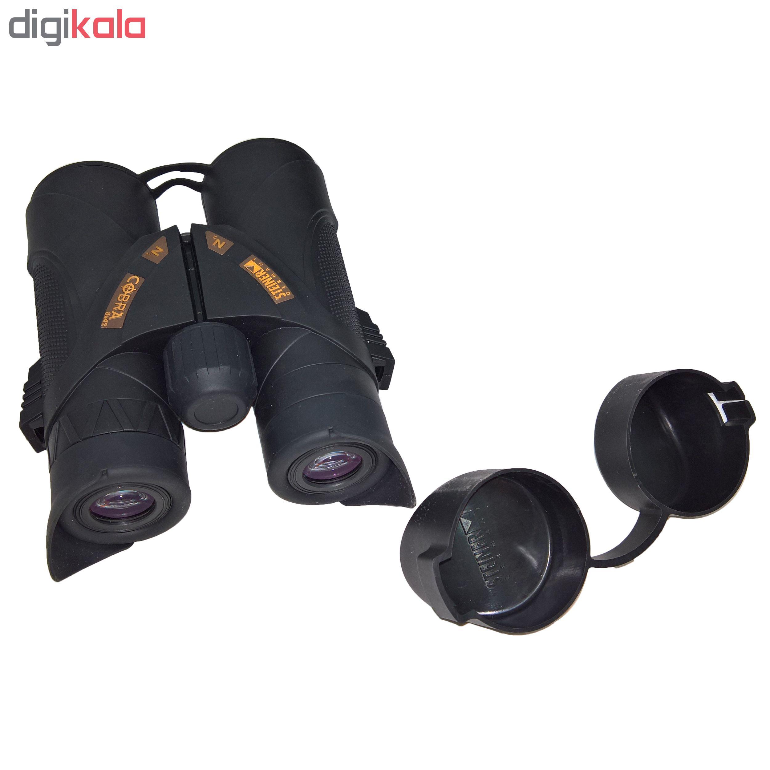 دوربین دو چشمی اشتاینر مدل Cobra 42×8
