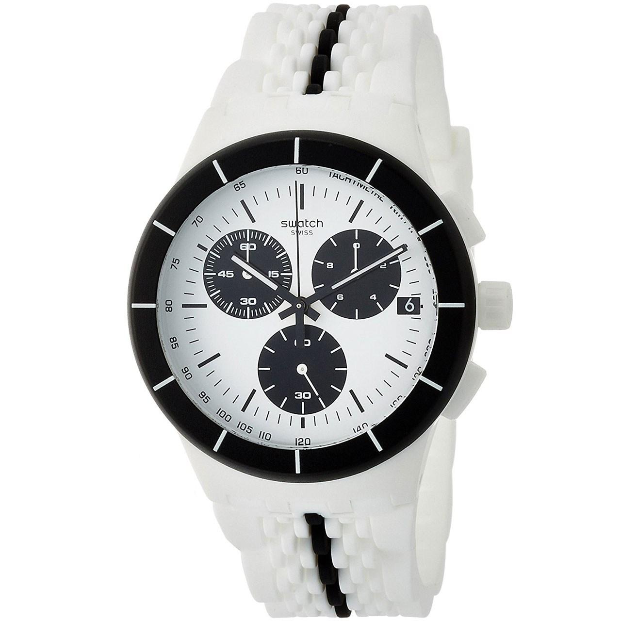 ساعت مچی عقربه ای مردانه سواچ مدل SUSW407
