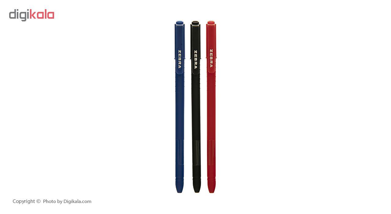 خودکار سه رنگ زبرا مدل Z-1 S