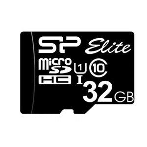 کارت حافظه microSDHC سیلیکون پاور مدل Elite کلاس 10 استاندارد UHS-I U1 سرعت 85MBps ظرفیت 32 گیگابایت