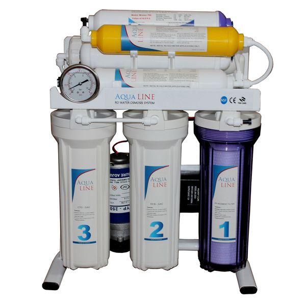 دستگاه تصفیه کننده آب آکوا لاین مدل RO-LINE800
