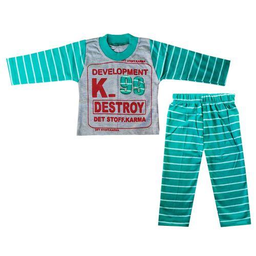 ست تی شرت و شلوار پسرانه کد K-9922