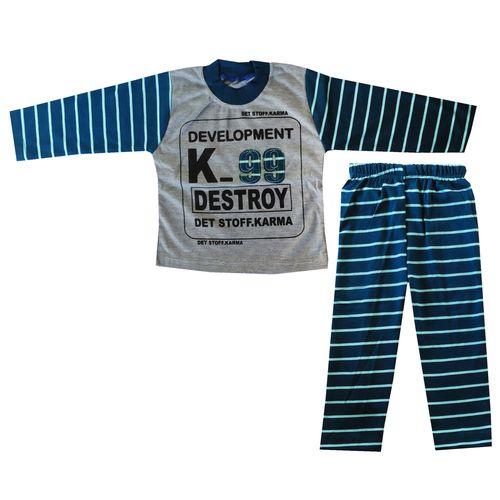 ست تی شرت و شلوار پسرانه کد K-9911