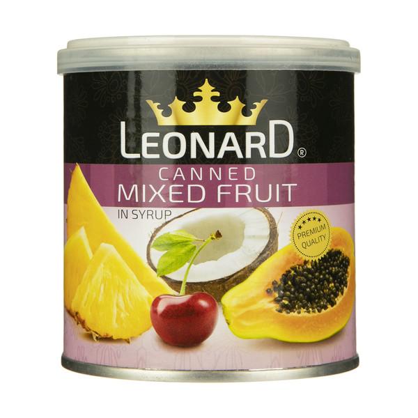 کمپوت مخلوط میوه لئونارد - 425 گرم