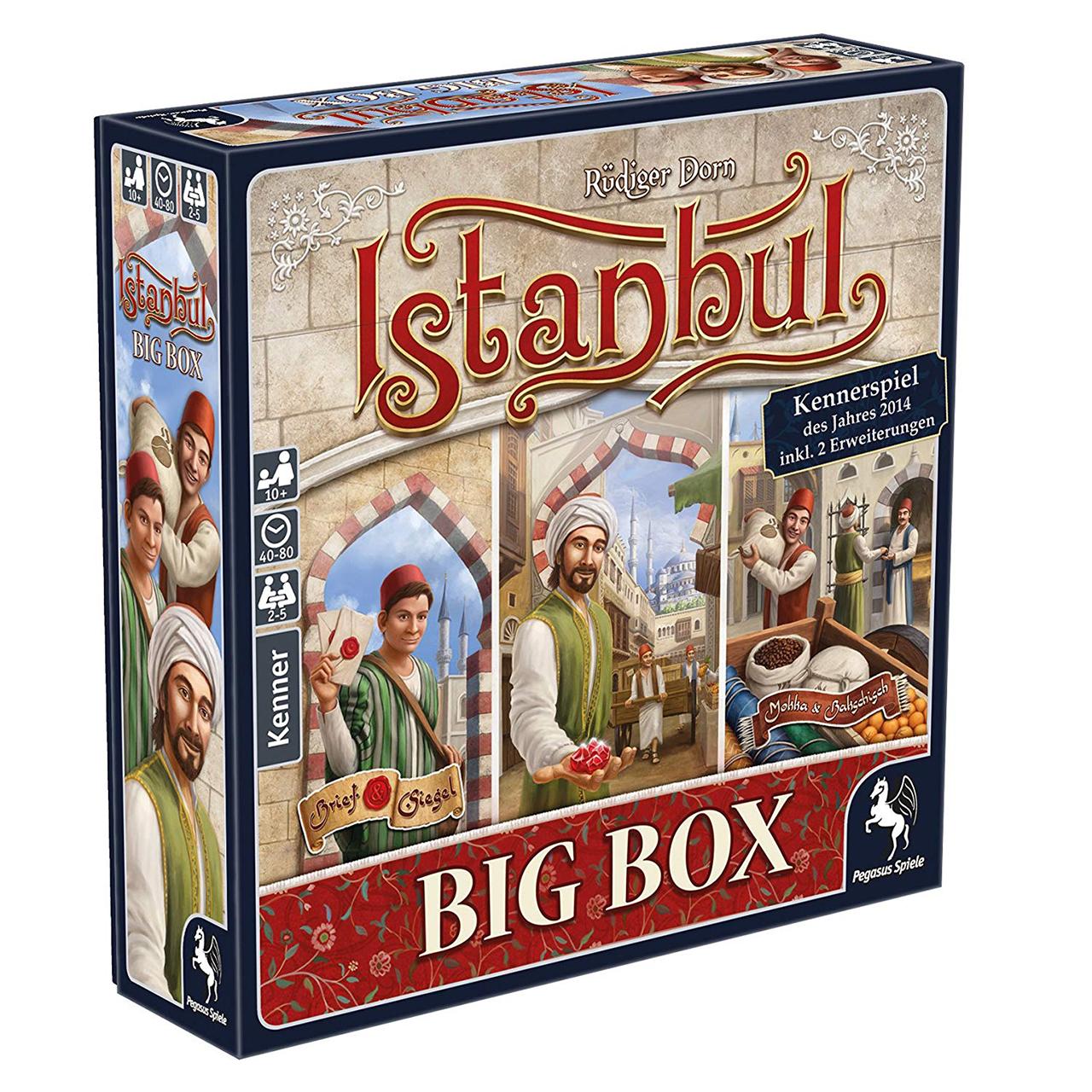 بازی فکری پگاسوس اسپیله مدل Istanbul Big Box