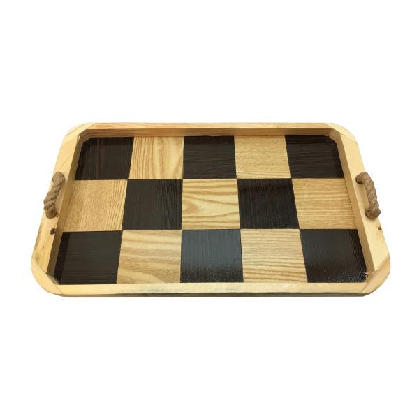 سینی طرح شطرنجی کد CH13