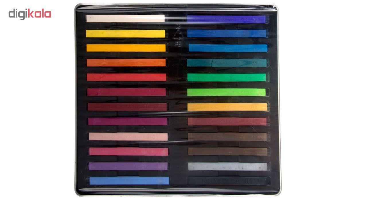 پاستل گچی 24 رنگ کرتاکالر کد 48024 main 1 2