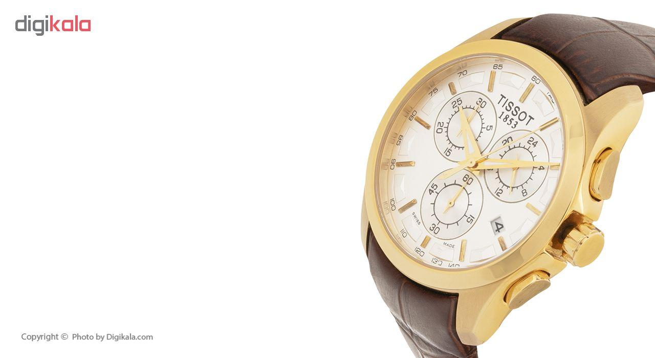 ساعت مچی عقربه ای مردانه مدل T008217A