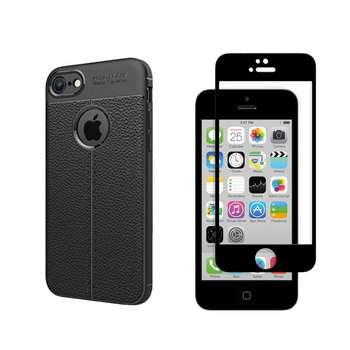 کاور مورفی مدل LM7 مناسب برای گوشی موبایل اپل 5/5S/SE به همراه محافظ صفحه نمایش