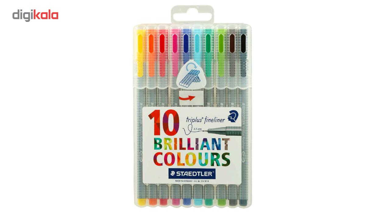 روان نویس 10 رنگ استدلر مدل Triplus Brilliant Colors main 1 1