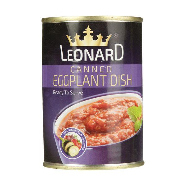 کنسرو خوراک بادمجان لئونارد - 420 گرم