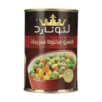 کنسرو مخلوط سبزیجات لئونارد - 420 گرم
