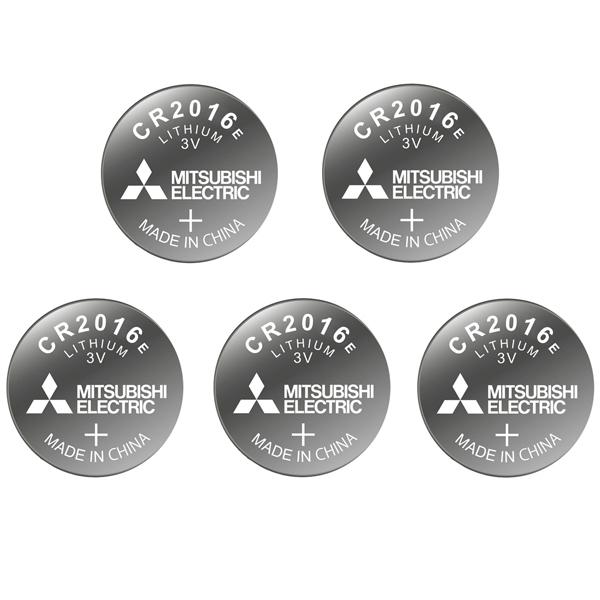 باتری سکه ای میتسوبیشی الکتریک کد 2016 بسته 5 عددی