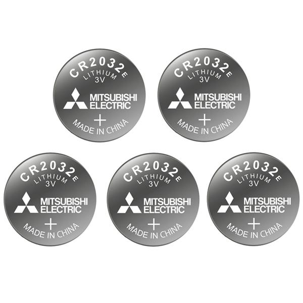 باتری سکه ای میتسوبیشی الکتریک کد 2032 بسته 5 عددی