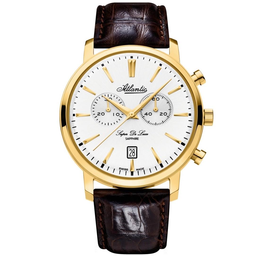 ساعت مچی عقربه ای مردانه آتلانتیک مدل AC-64451.45.21