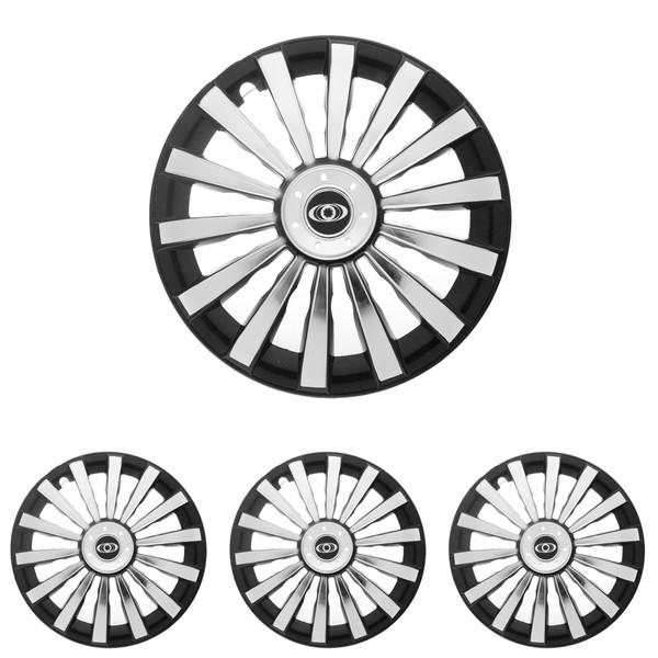 قالپاق چرخ ام اچ بی مدل SP15 سایز 13 اینچ مناسب برای پراید