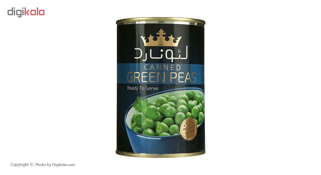 کنسرو نخود سبز لئونارد - 420 گرم main 1 2
