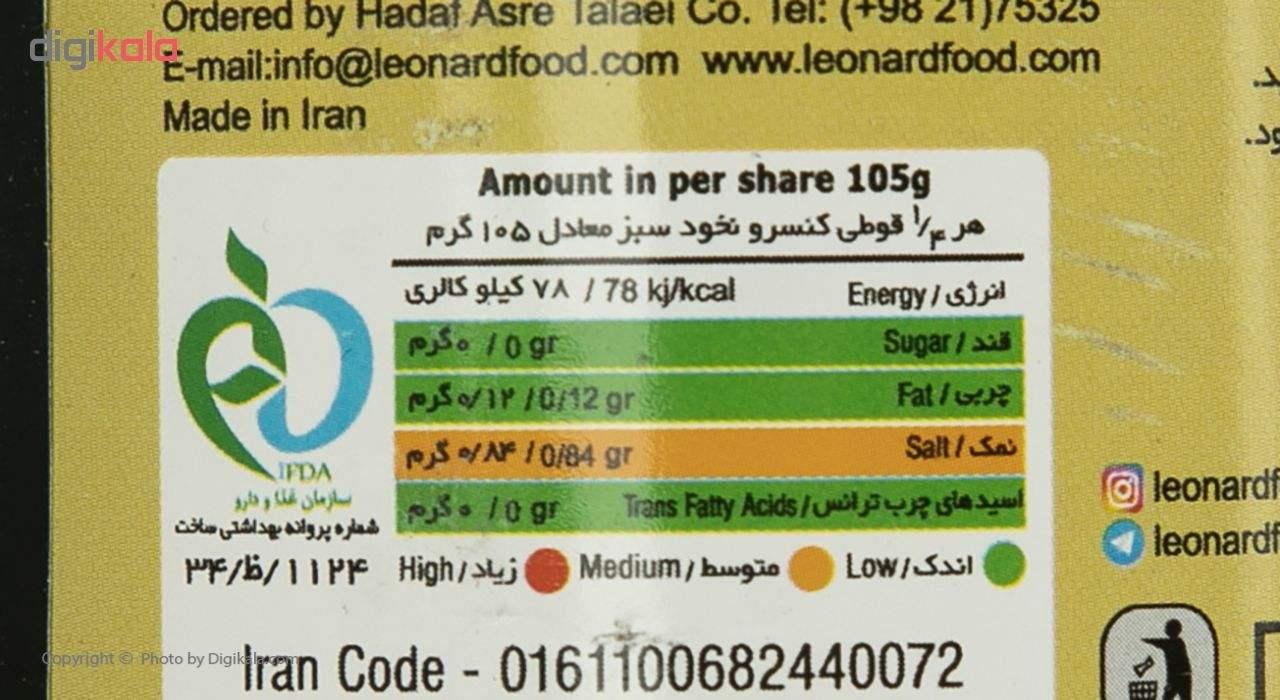 کنسرو نخود سبز لئونارد - 420 گرم main 1 4