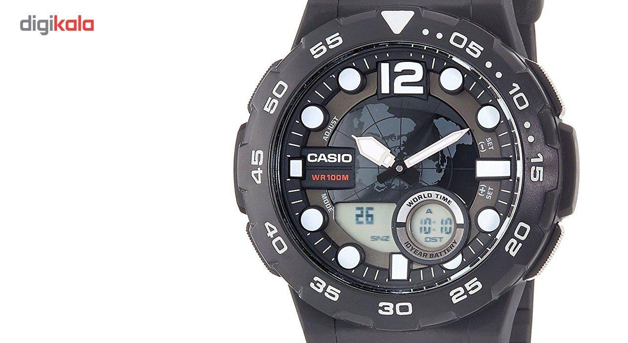 ساعت مچی عقربه ای مردانه کاسیو مدل AEQ-100W-1AVDF -  - 2