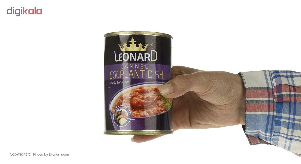 کنسرو خوراک بادمجان لئونارد - 420 گرم main 1 4