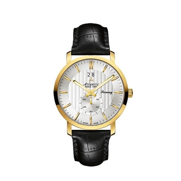 ساعت مچی عقربه ای مردانه آتلانتیک مدل AC-63360.45.21