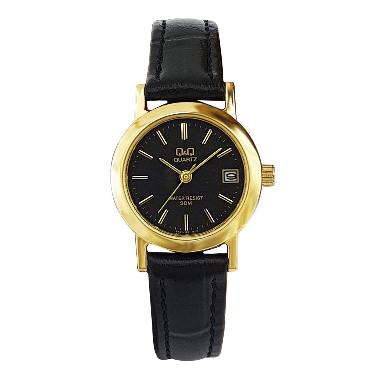 ساعت مچی عقربه ای زنانه کیو اند کیو مدل qaba101