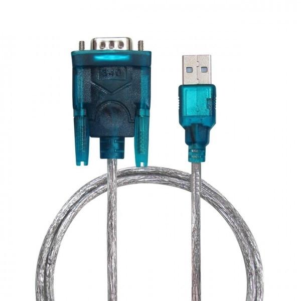 کابل تبدیل USB به RS232 مدل RS02 طول 0.8 متر