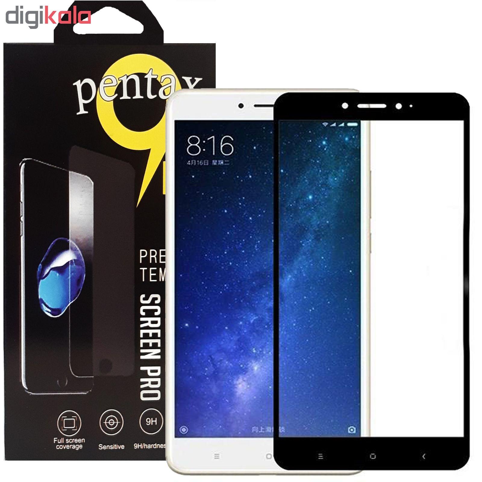 محافظ صفحه نمایش پنتاکس مدل TMP مناسب برای گوشی موبایل شیائومی MI MAX 2 main 1 1