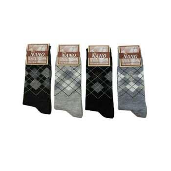 جوراب مردانه کد 2020 بسته 4 عددی