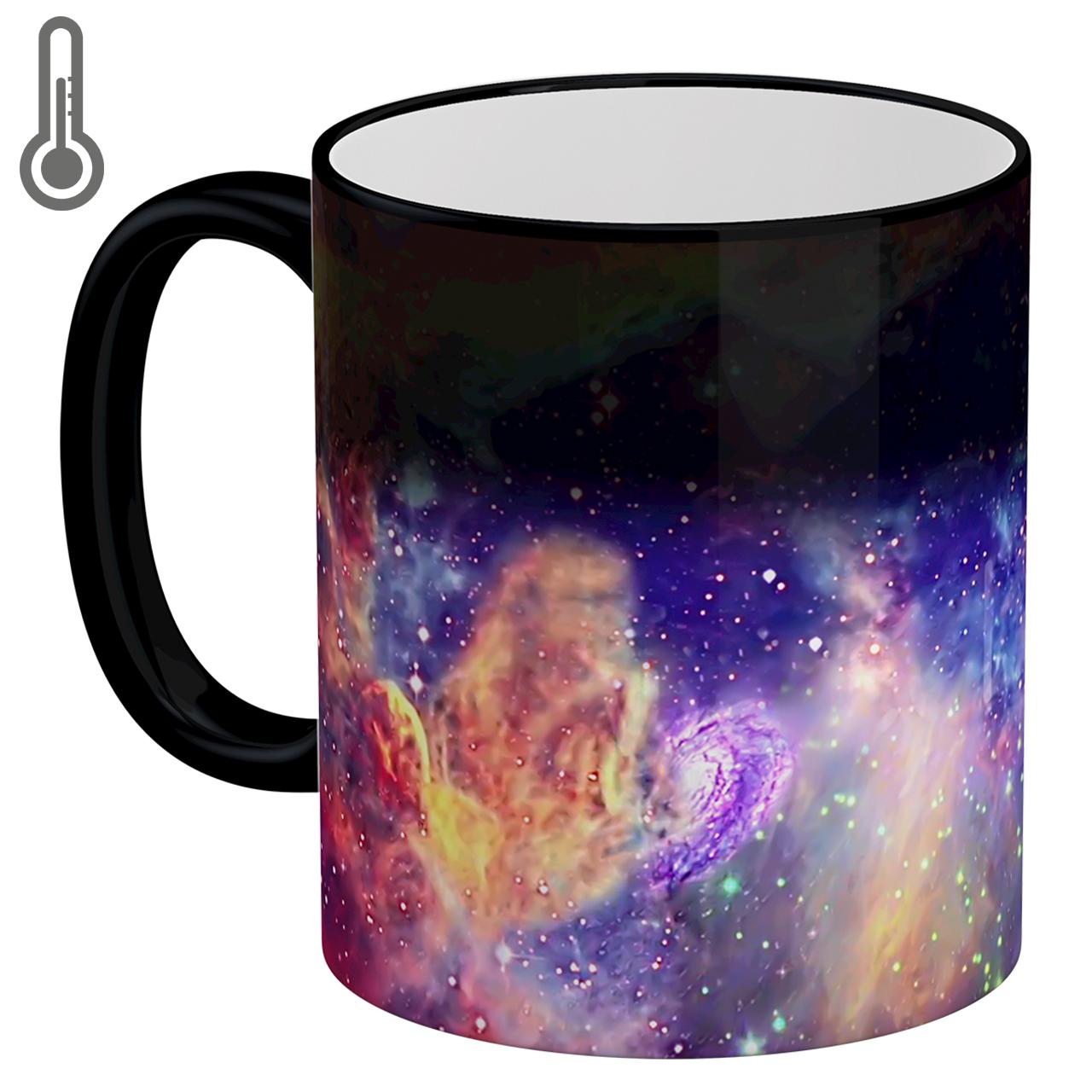 ماگ حرارتی لومانا طرح کهکشان کد MAG1609