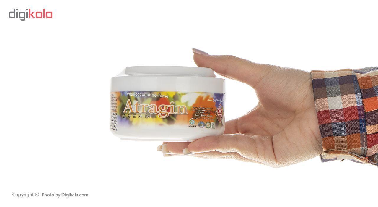 کرم مرطوب کننده و نرم کننده عطرآگین مدل Coconut Perfume حجم 200 میلی لیتر main 1 3