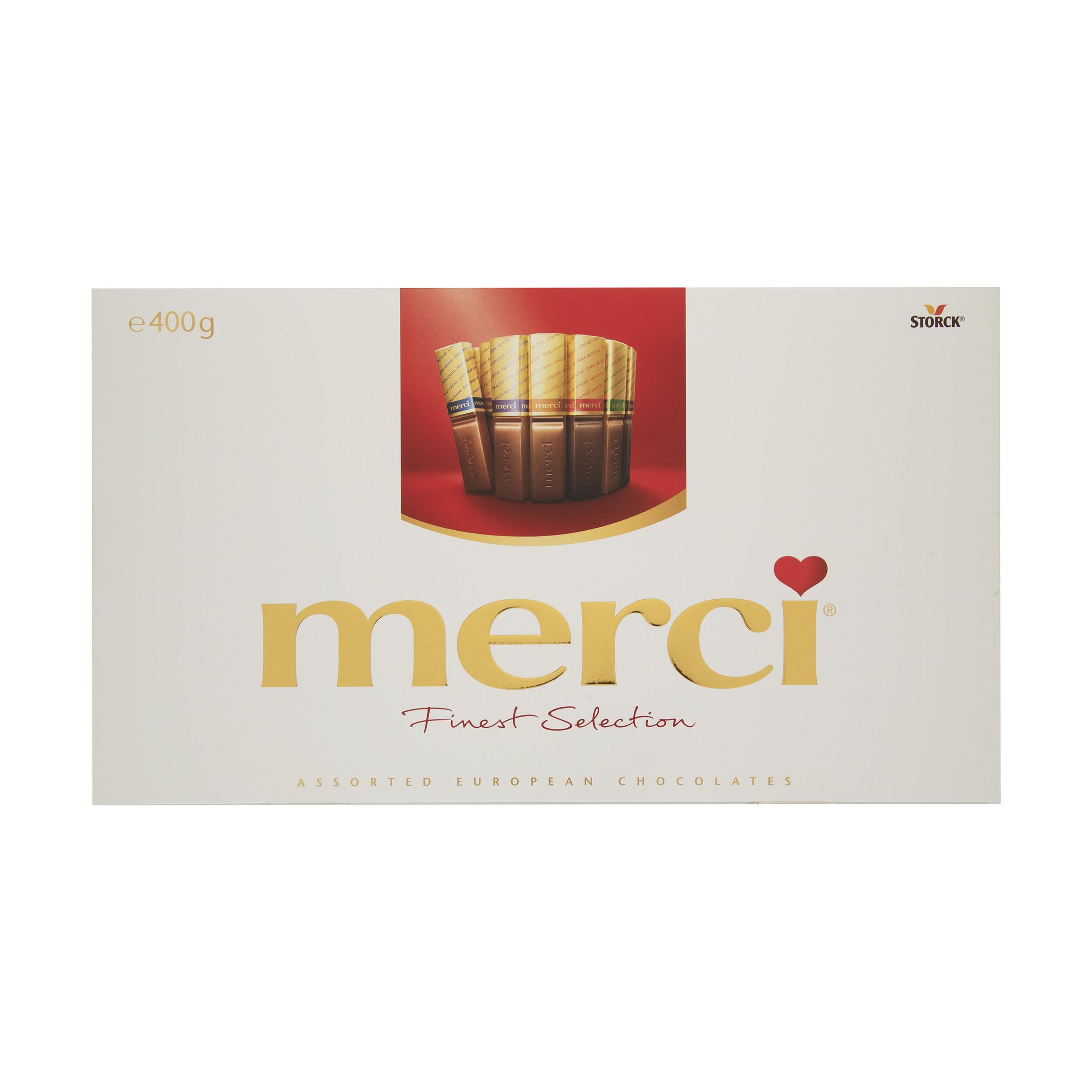 شکلات میکس مرسی وزن 400 گرم