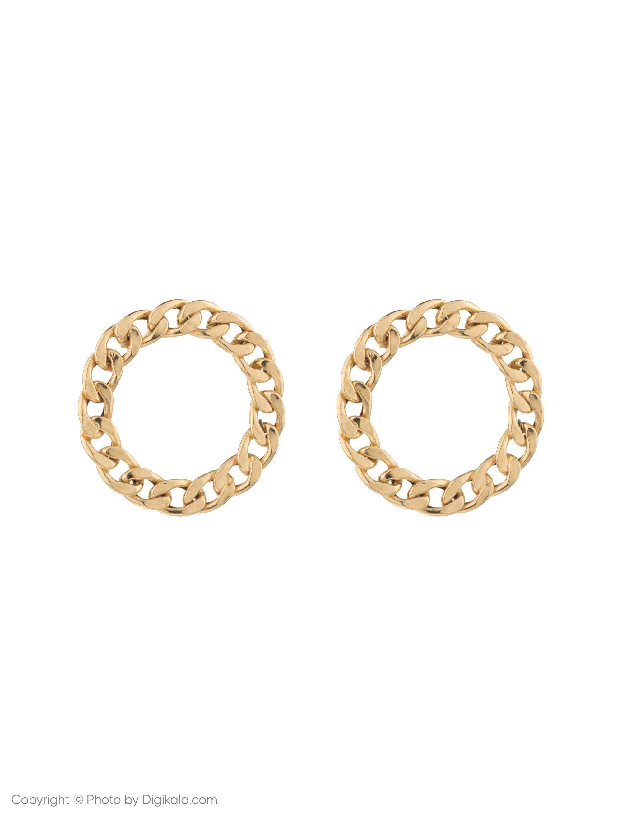 گوشواره طلا 18 عیار زنانه میو استار مدل EG160