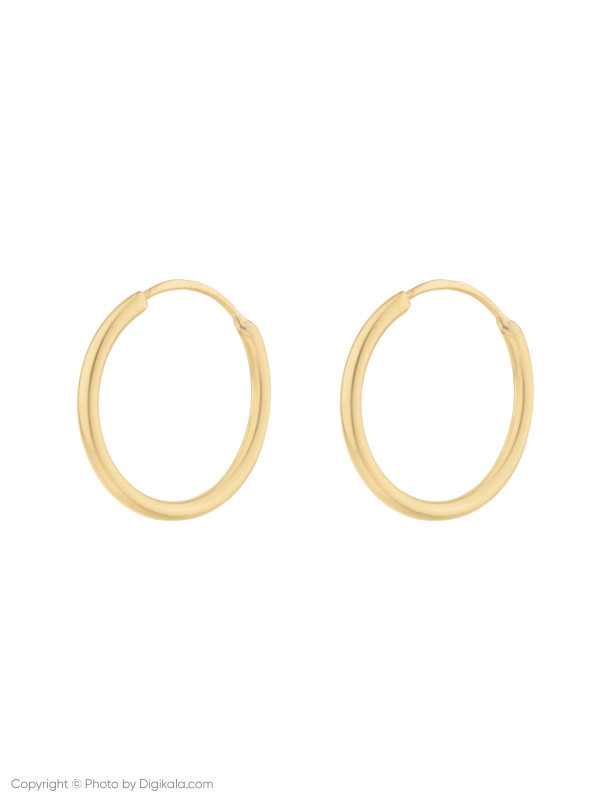 گوشواره طلا 18 عیار زنانه میو استار مدل EG158