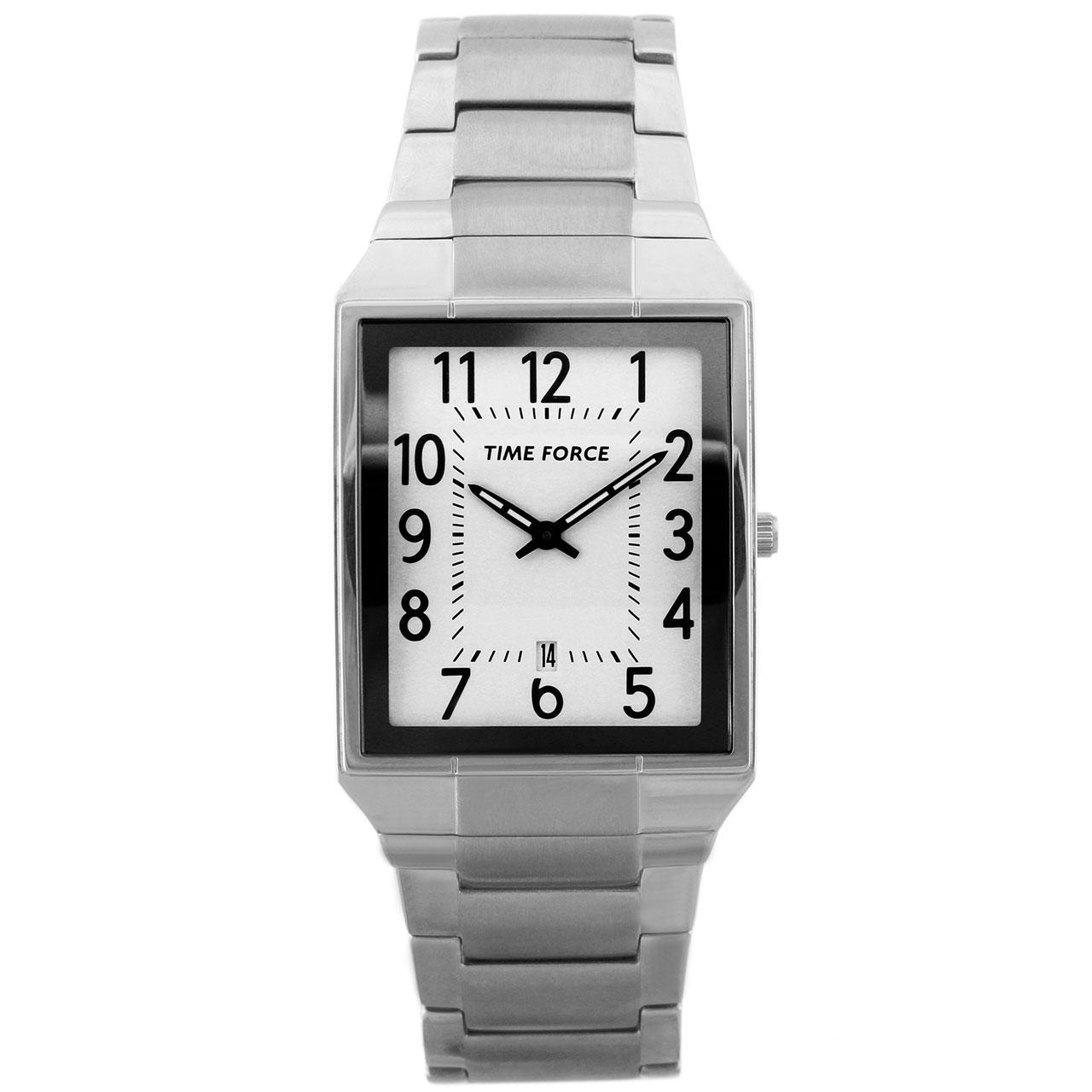 ساعت مچی عقربه ای مردانه تایم فورس مدل TF3288M02M
