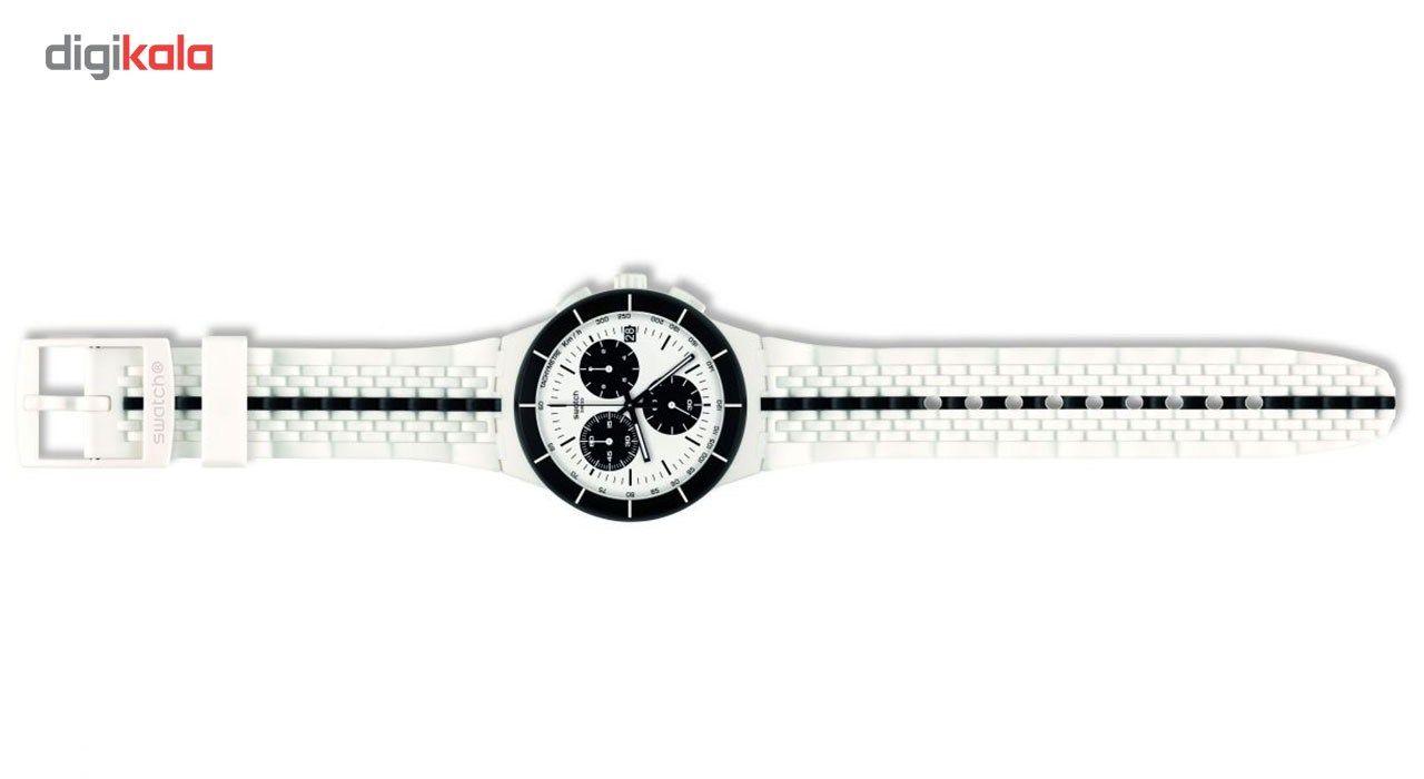 ساعت مچی عقربه ای مردانه سواچ مدل SUSW407 -  - 4