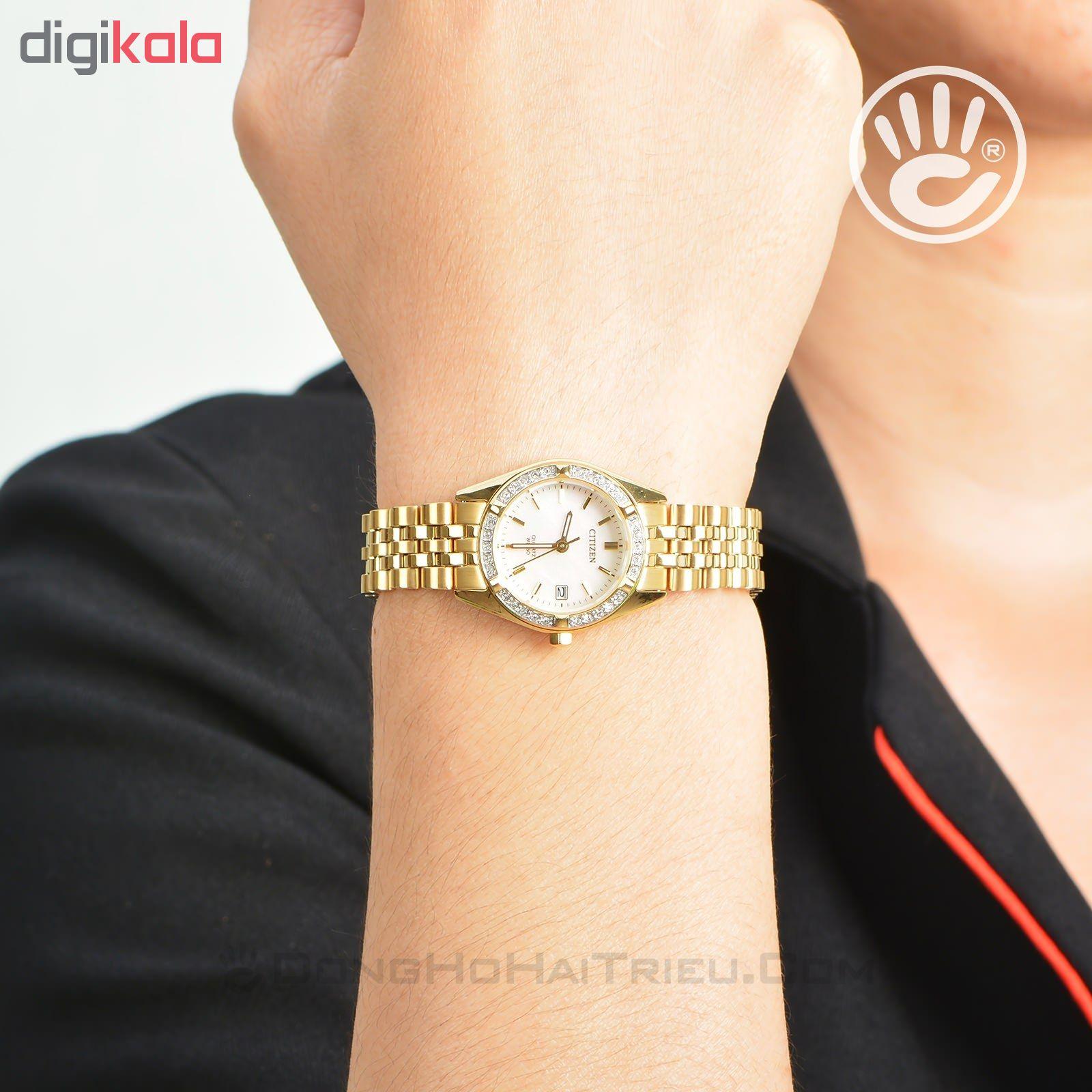 ساعت مچی عقربه ای زنانه سیتی زن مدل EU6062-50D              ارزان