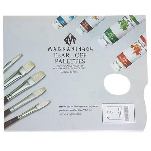 پالت مگنانی مدل کاغذی بسته 35 عددی